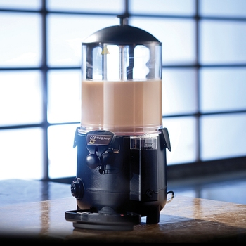 ITOP 10L Hot Chocolate Dispenser Machine Commercial Chocolate Beverage Machine for Cafe, Party, Shop and Small Bar Baine Marie hot sale commercial mini kitchen appliance table counter top 5 liter chocolate melting machine for drink dispenser