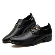 Marca de lujo Zapatos de Los Hombres de Alta Calidad de Cuero Genuino Con Cordones Zapatos Derby de Boda de Los Hombres de Negocios Zapatos de Los Hombres Zapatos de Vestir Formal