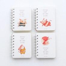 Pig Printed Daily Notepad