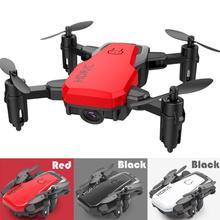 CHAMSGEND Mini D2WH składany z Wifi FPV 0 3MP kamera hd 2 4G 6-helikopter osiowy zdalnie sterowany zabawki drony dla dzieci i dorosłych prezenty tanie tanio Metal Z tworzywa sztucznego 15days Silnik szczotki Certyfikat 3 7V Mini Drone about 2 hours 8 kanałów Conventional 30cm*20cm*50cm