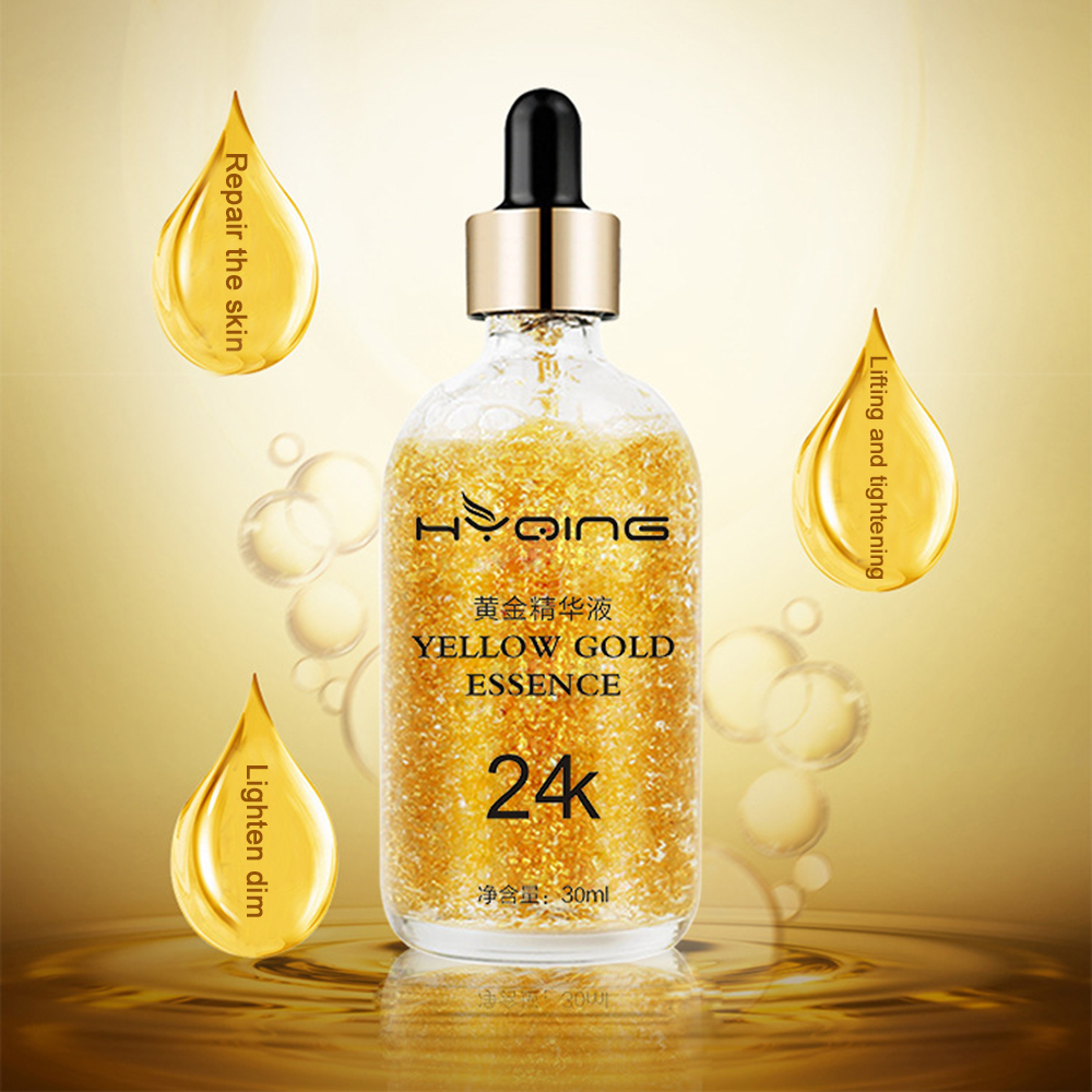 24K Gold Anti Wrinkle Aging Essence Liquid Tightening Brightening 30ml Essence Liquid Moisturizing Improve Skin Facial CareTSLM2