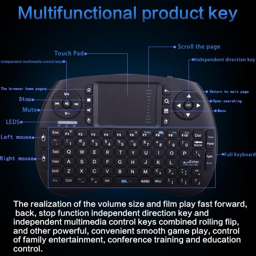 Wireless Keyboard With Backlight