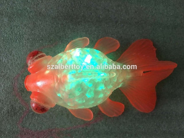 2016 Sea Animal Toy Light Up Clown Fish Novelty U0026 Gag Toys FreeShipping