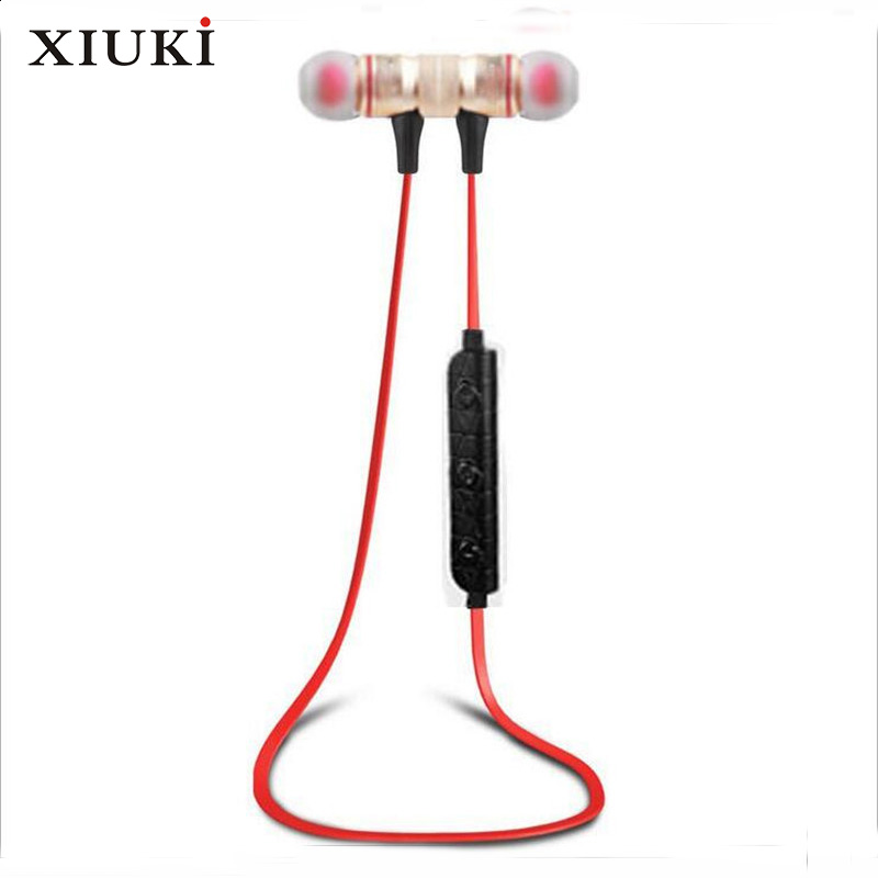 M9 Magnetic Adsorption Bluetooth 4.0 Movement Headset Ultra Clear Timbre Clear Communication