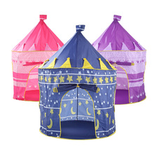 Kids Play Tent Large Princess and Prince House Castle Palace Baby Toy Game Playhouse Tent for