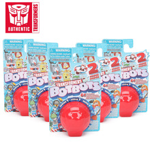 5 pièces/ensemble transformateurs jouets Botbots jouets série 1 Bumblebee Optimus prime Megatron, figurine daction Mystery 2 en 1, modèle de collection