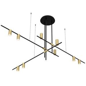 Image 2 - Moderno HA CONDOTTO La lampada di pendente di vertigo La sospensione E27 Costanza Guisset est delle nazioni unite di apparecchi di illuminazione per Sala da pranzo Ristorante lampe lustro