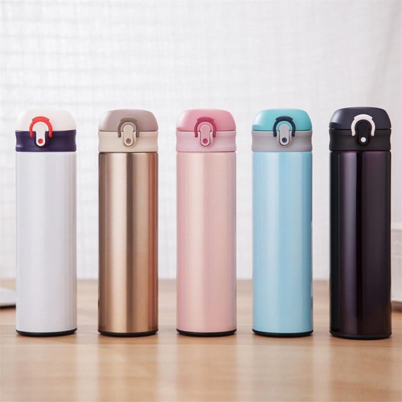 Crown Water Bottle Outdoor Mug Cup Travel Bottle Vacuum Child School Thermos UK