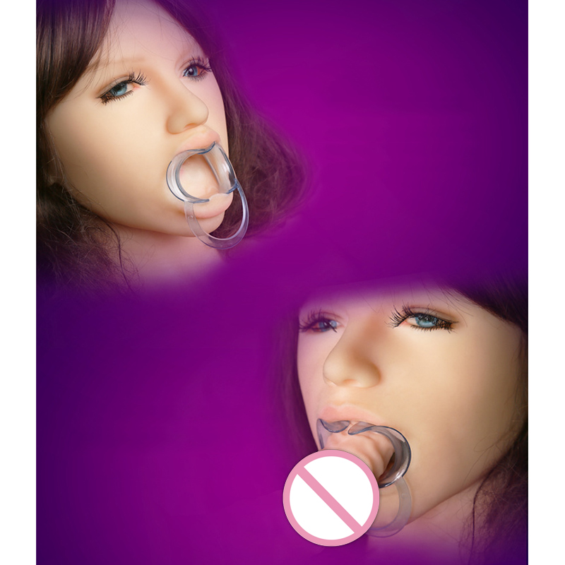Good Healthy Yunman Hard Plastic Open Mouth Gag for Adults Oral Games for Couple