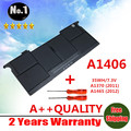 Wholesale new   Laptop Battery For Apple MacBook Air A1406 A1370 2011 Production A1465 MC965 Free shipping