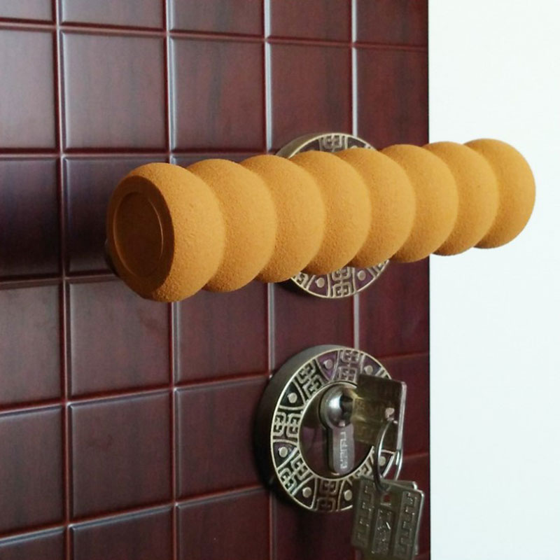Child Protection Baby Safety Room Doorknob Pad Set Spiral Set Of Anti-collision Security Door Handle Protective Sleeve Cover