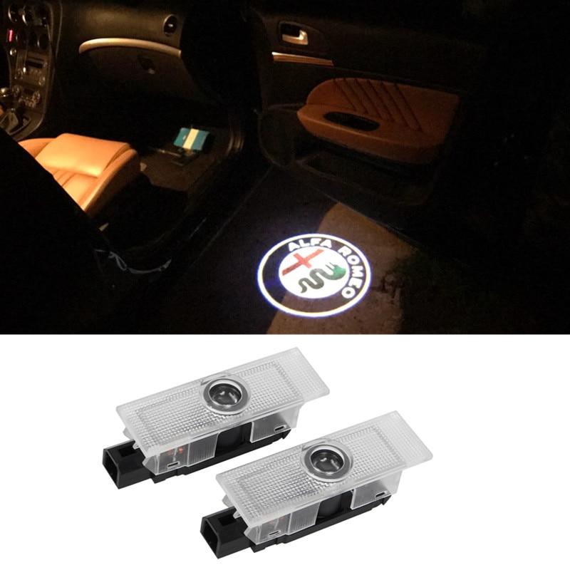 2X LED Car Door Logo Light Courtesy Ghost Shadow Projector Logo Laser font b Lamp b