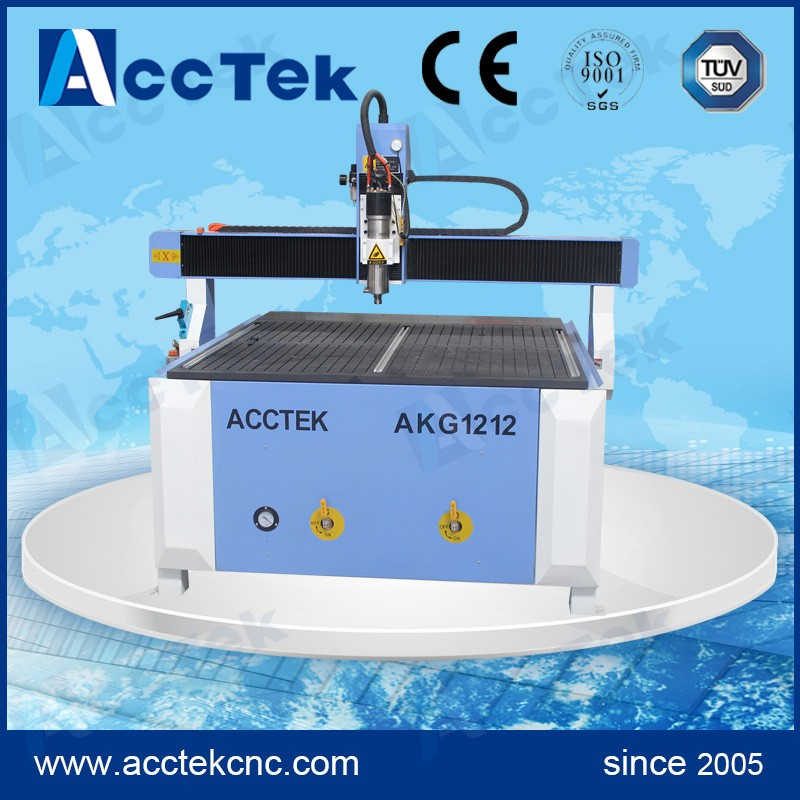 Vacuum Table Cnc Woodworking Carving Machine AKG1212 Cnc Wood Carving Lathe For Wooden Window