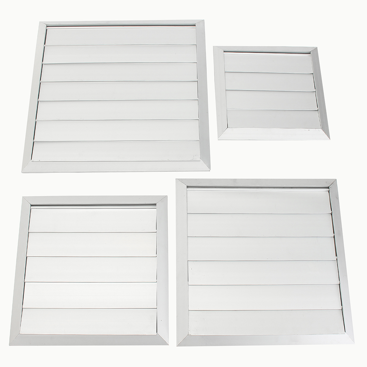4/5/6/7 Flaps Air Vent Grille Cover Wall Duct Ventilation Louvre Exhaust Hood Hardware Core Vents