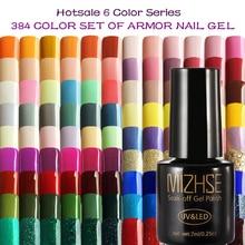 MIZHSE 7ML Color Gel Nail Polish Nail Gel Polish Art Series Color UV LED Acrylic for Gel Varnish Gelpolish Shilak Semi Permanent