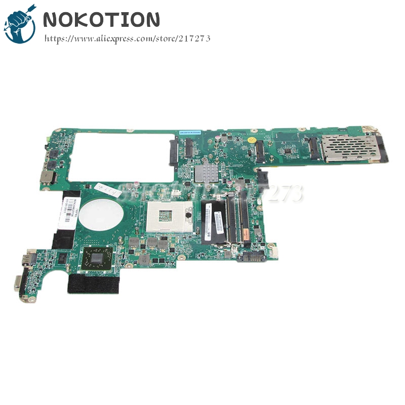 NOKOTION 11S1101213 Main Board For Lenovo Y560 Laptop Motherboard DAKL3AMB8E0 HM55 DDR3 HD5000 Video Card 1GB