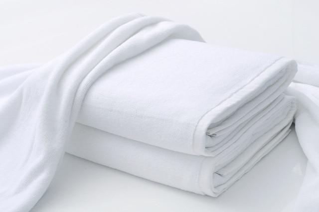 Lusso grande albergo bianco cotone asciugamani da bagno towel per