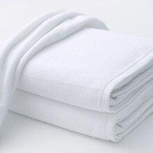 Luxury Large Hotel White Cotton Bath Towel for Adults SPA Sauna Beauty