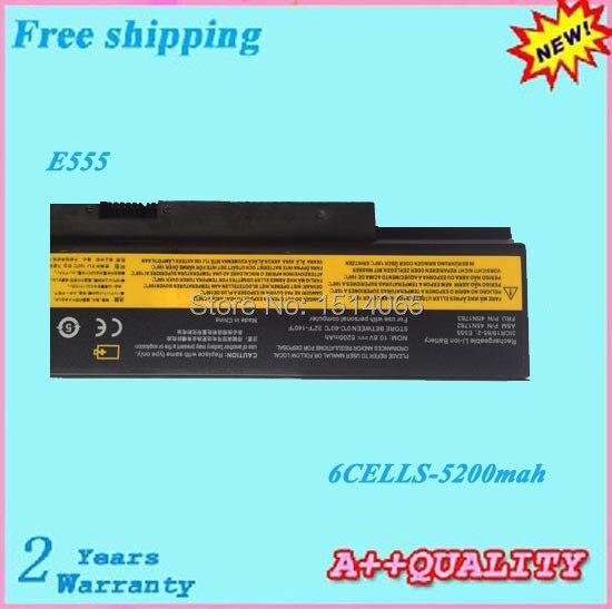 High quality 6cells Laptop battery For LENOVO ThinkPad E555 E550 E550c