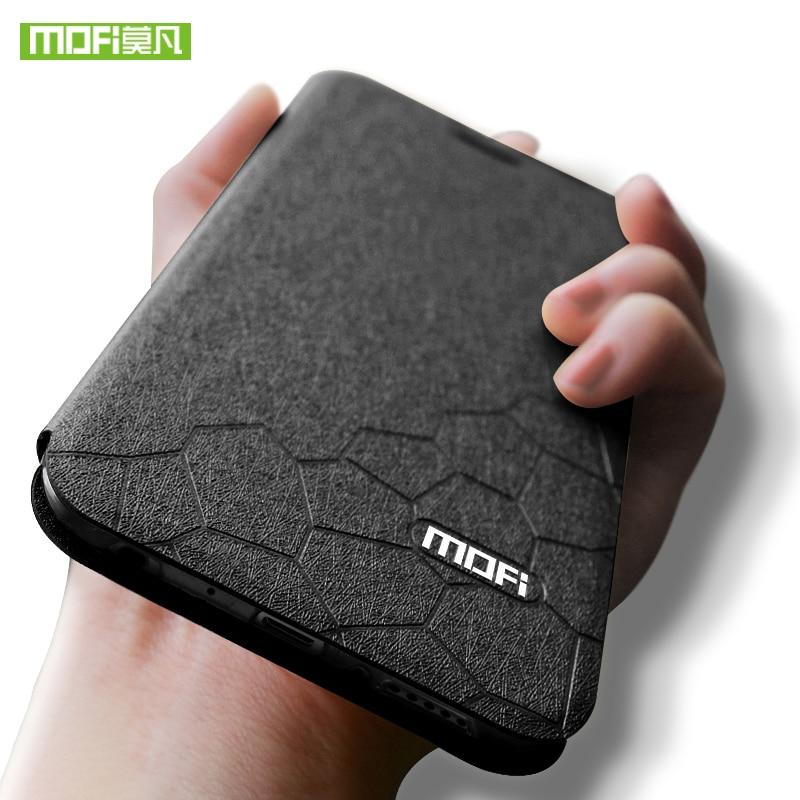 New for xiaomi mi cc9 case global version Mofi cover flip leather silicone