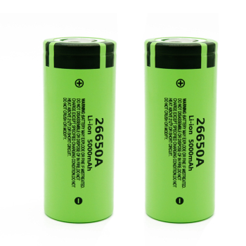 26650 3.7v 5000mah Li-ion Rechargeable Battery 26650A for Panasonic for LED Flashlight Torch Accumulator Li-ion Battery 26650 image