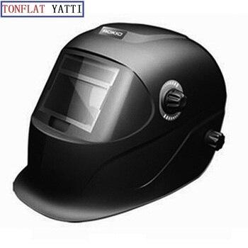 4Arc sensor cool welding helmets Solar battery auto darkening TIG MIG MMA MAG electric welding mask/welder cap free shipping lcd