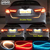Car Styling Turn Signal Amber Flow Led strip trunk Tail Light Ice Blue LED DRL daytime running light RED Brake Light for BMW