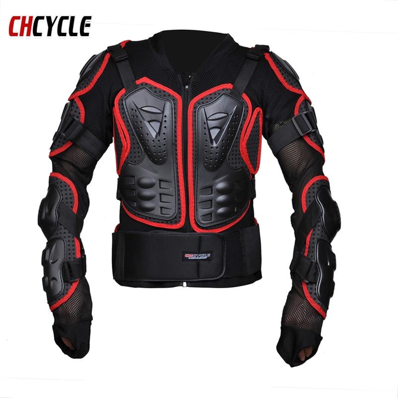 Chcycle full Body Armor Motorcycle Jacket protetor de pescoco Chest racing armour Armor Motor Motocross protector armadura
