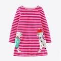 s, girls' s, 100 cotton children's s, 7293 European and American dress, children's dress wholesale