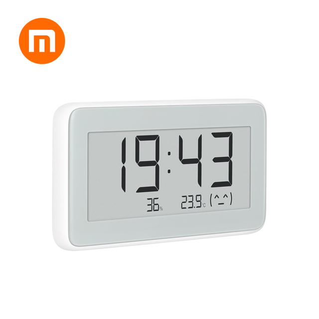 Hot In Voorraad Originele Xiaomi Mijia Miaomiaoce BT4.0 Draadloze Smart Elektrische Digitale Indoor & Outdoor Hygrometer Therometer Klok