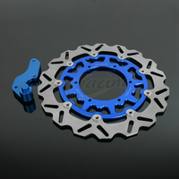 CNC 320MM Motorcycle Front Floating Brake Disc Bracket For YAMAHA YZ125 WR125 WR250 WR250F YZ250 YZ250F