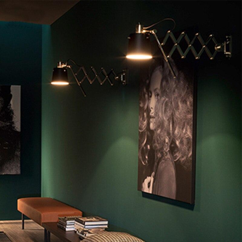 Lovely FUMAT Flexible Wandleuchten Amerikanischen Schwarz Wand Leuchte Wohnzimmer  Bar Korridor Art Deco Moderne Wandleuchte Badezimmer Wandleuchte In FUMAT  ...