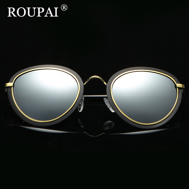 latest style in eyeglasses ldt1  ROUPAI Brand 2017 Women's Driving Sun Glasses Polarized Mirror Lens Luxury  Ladies Designer Retro Sunglasses Eyewear