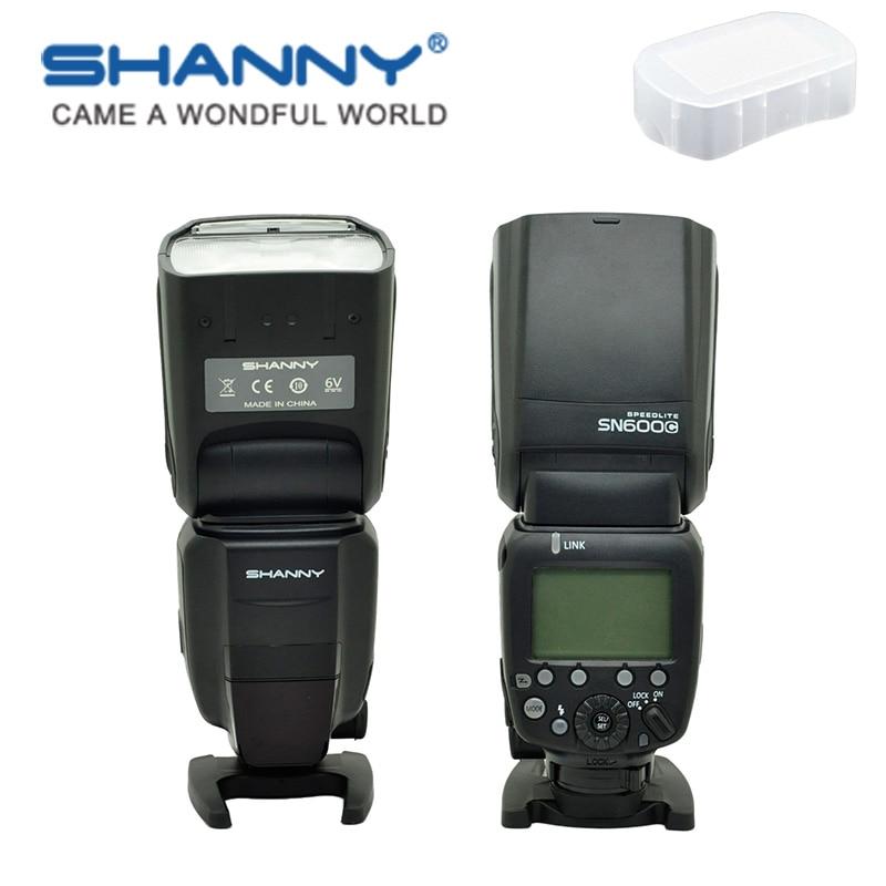 SHANNY SN600C on-camera speedlite flashgun flash for Canon ETTL/M/Multi High-speed sync 1/8000s GN60SHANNY SN600C on-camera speedlite flashgun flash for Canon ETTL/M/Multi High-speed sync 1/8000s GN60