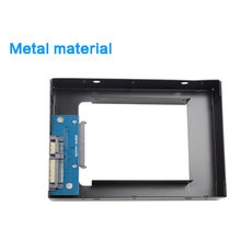 Tool-free 2.5» SATA HDD/SSD to 3.5» SATA HDD Transfer Rack Trayless Mobile Rack for All Hard Disk Driver Metal Material