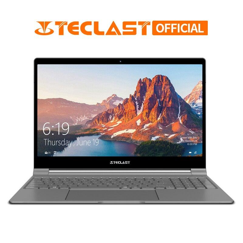 Teclast F15 ноутбук 15,6 дюйма 1920x1080 Windows 10 ОС Intel N4100 4 ядра 8 GB Оперативная память 256 ГБ SSD HDMI Тетрадь 6000 mAh