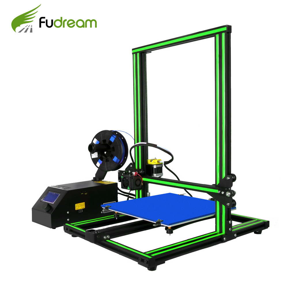 2018 Fudream <font><b>3D</b></font> <font><b>Printer</b></font> Upgrade CR-10 Large Printing Size 500*500*<font><b>500mm</b></font> Dual Rod DIY Kit Filament Touch/Normal LCD Option image
