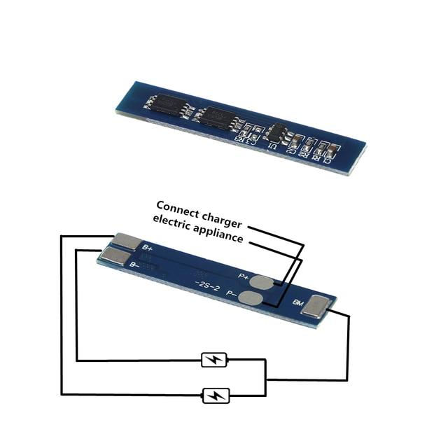 2 s 3A Li-Ion 7.4 v 8.4 v 18650 Lithium Batterij Oplader Bescherming Boord bms pcm voor li-ion lipo batterij cell pack