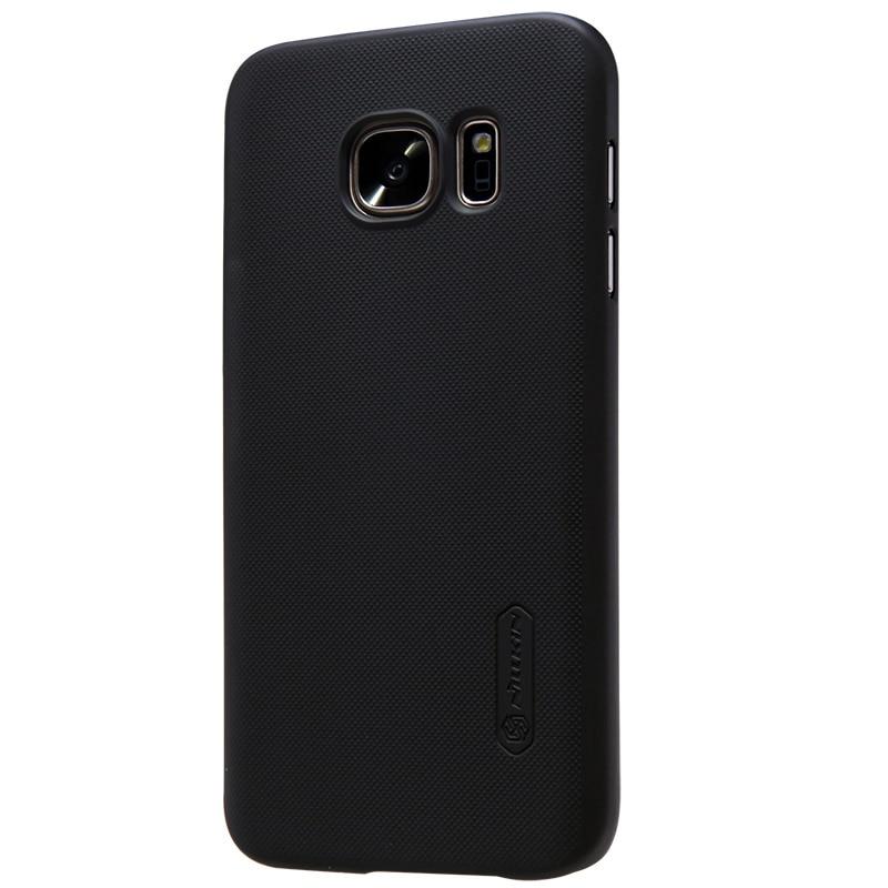 Carcasa Nillkin esmerilada para Samsung Galaxy s7 (5.1 pulgadas) cubierta trasera de plástico duro para samsung s7 con regalo