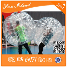 Free Shipping Hot Sale 1.7m Diameter Bubble Soccer 1.0mm TPU Inflatable Ball Suit, ,TPU Bumper Ball For Aduits