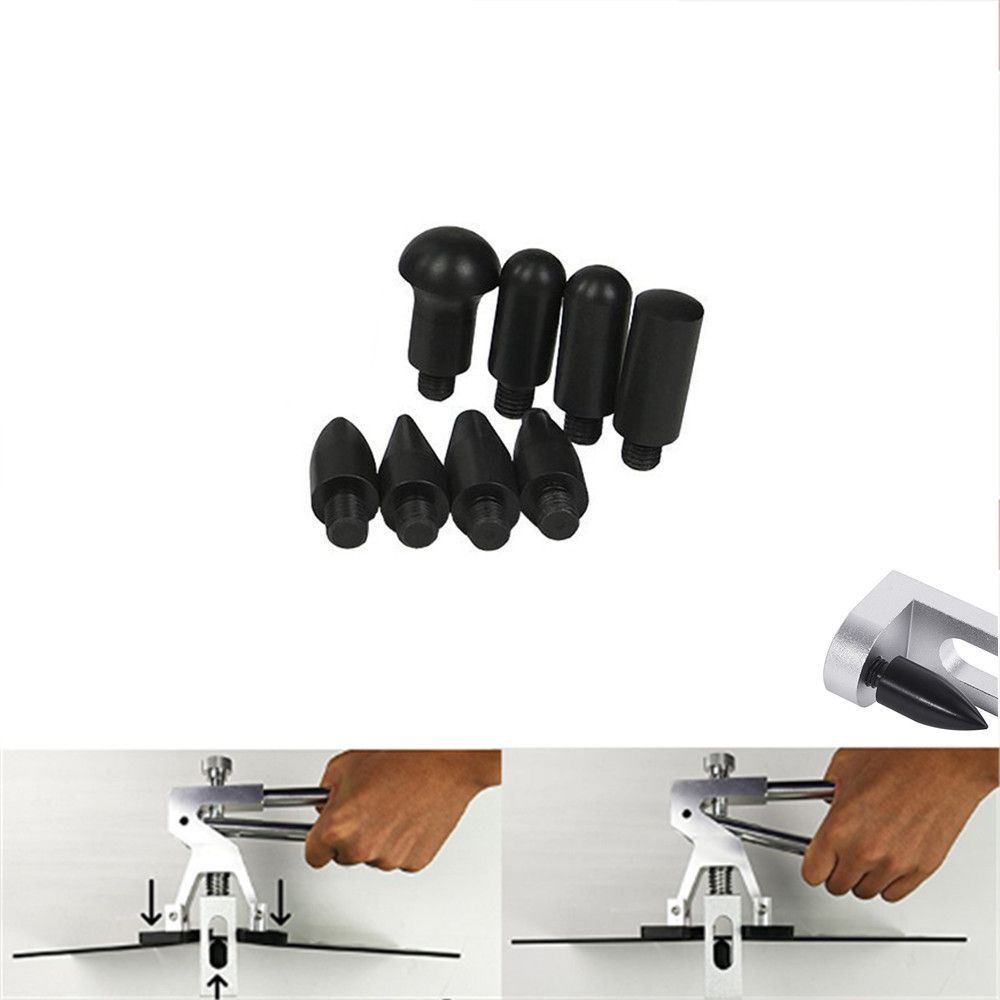 Недавно Дизайн PDR крюк инструменты Толкатель черный автомобиль лом Paintless Дент Ремонт Инструменты PDR Наборы Ding град Съемник Набор