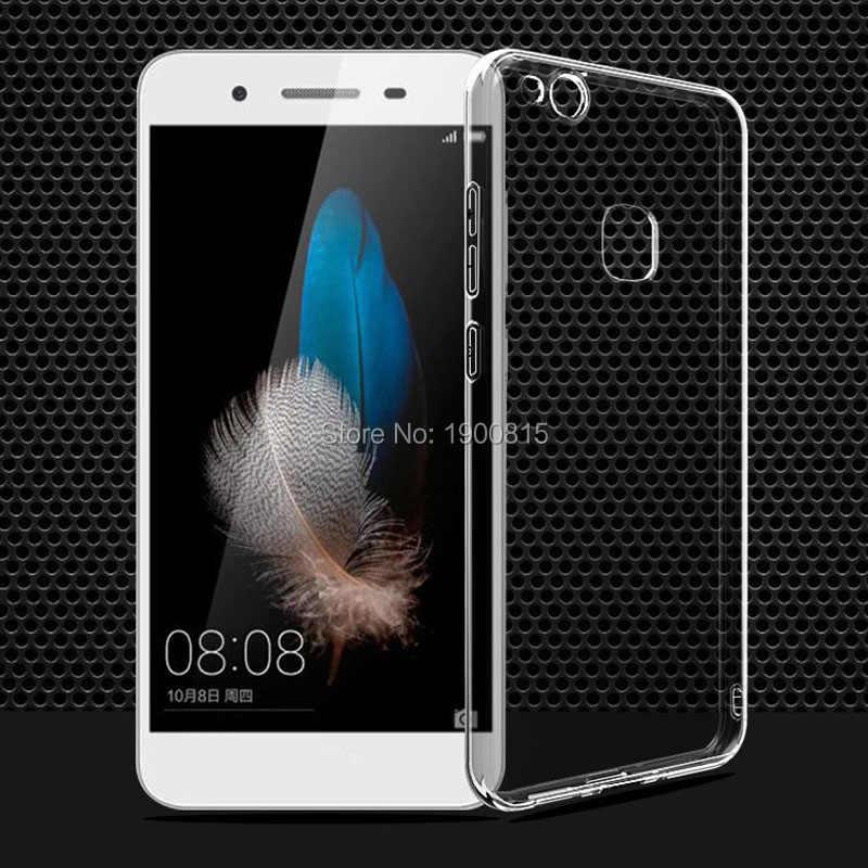 Rõ ràng Trường Hợp Bìa Cho Huawei Mate 10 Pro Lite 9 P20 P10 P9 P8 Lite P7 Y5 Y6 Y3 2017 2018 Nova 2i Cho Honor 10 9 8 Lite 7X 7A 6X