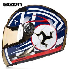 BEON B-500 full face helmet electric bicycle motorcycle afety headpiece  capacete motociclismo moto fox racing motocross