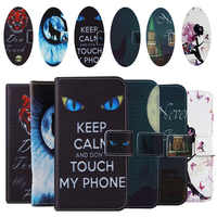 AiLiShi Flip Book Stand Design Protect Leather Cover Shell Wallet Etui Skin Case For Lava Z25 Z91 Z91E Z90