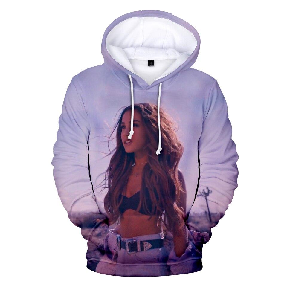 Frdun Tommy 3D Ariana Grande Hoodies Sweatshirt Kpop Casual Fashion Kpop Hip Hop Famous singer Amrican Hoodies Warm Sweatshirt jung kook bts persona