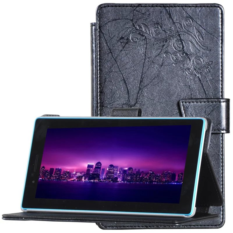 New Luxury Leather Case Cover For Lenovo Tab3 7 730 730F 730M Tab3-730F Tab3-730M 7 Tablet Smart Awakening Stand Flip Cover luxury flip stand case for samsung galaxy tab 3 10 1 p5200 p5210 p5220 tablet 10 1 inch pu leather protective cover for tab3