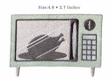 "TV set 2.5""wide embroidery patch for batman iron on patches/sequin beaded applique/barcelona jersey(China)"