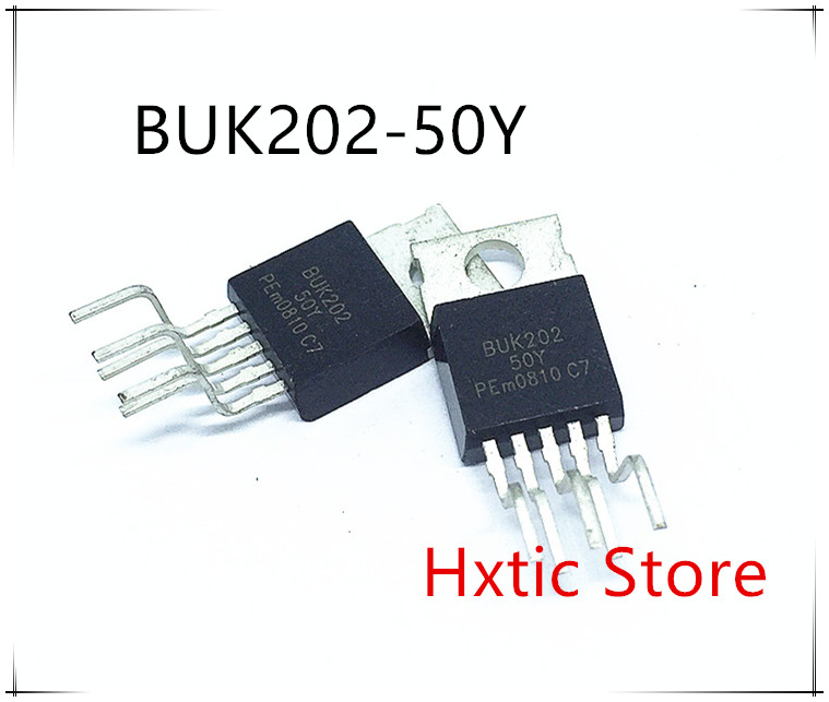 BUK202-50Y BUK202-50 BUK202 50V 20A TO-220-5 ROHS 10PCS/lot