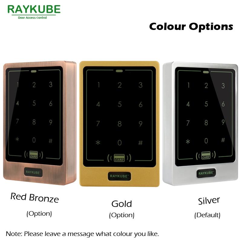 Kutia e kontrollit të hyrjes RAYKUBE Lock Strike Elektrike + - Siguria dhe mbrojtja - Foto 2