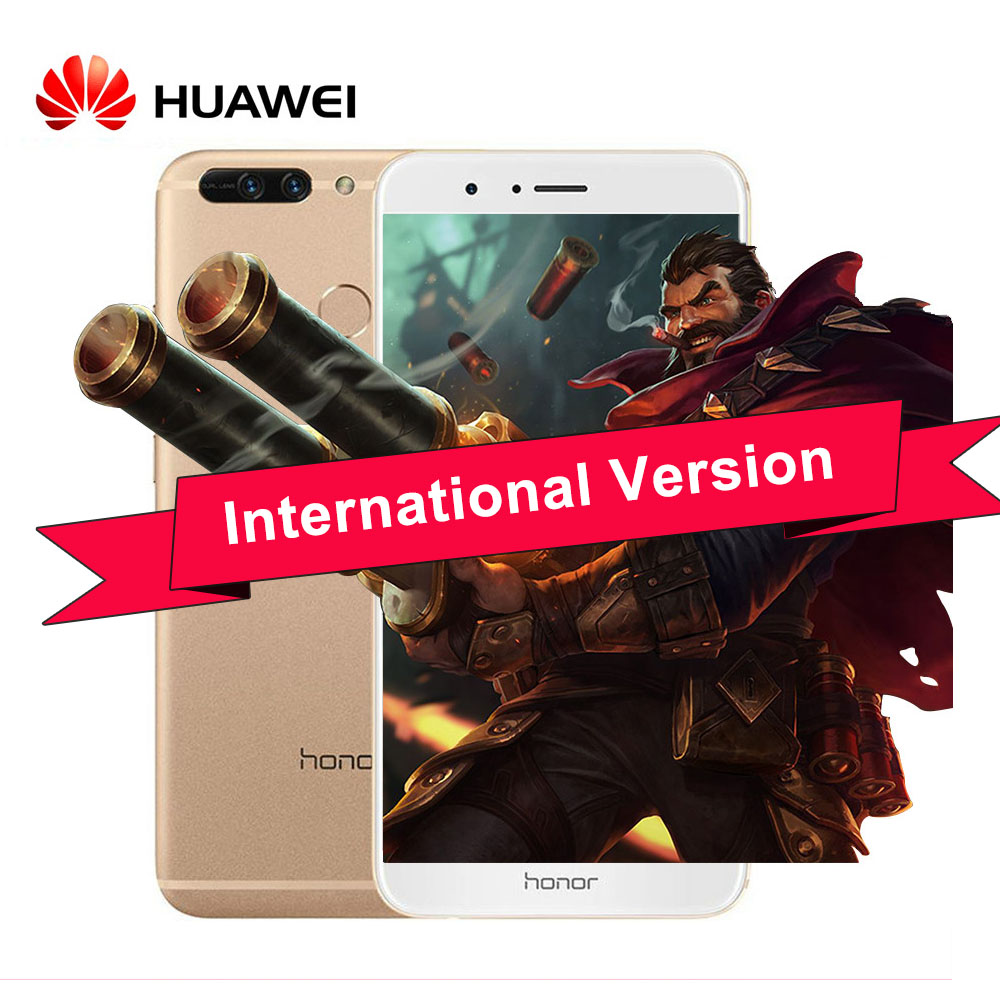 """Глобальной прошивки huawei honor V9 honor 8 pro 4G LTE мобильный телефон 5,7 """"2560×1440 4G B Оперативная память 6 4G B Встроенная память Kirin960 Восьмиядерный двойной 12.0MP"""